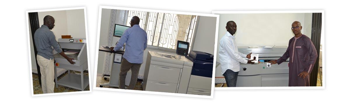 Imprimerie ILP Dakar