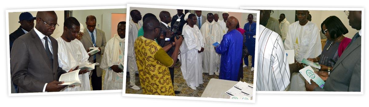 Visite et dédicaces ILP Dakar