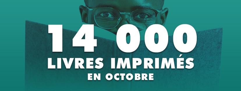 14 000 livres imprimés à Dakar